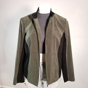 Jennifer Moore Olive Green Jacket